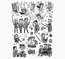 Supernatural Chibis by HizaChu