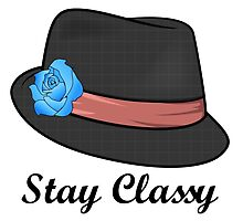 Classy Hat is Classy by Graphoniac