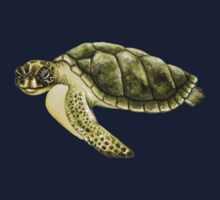 Kemp's Ridley Sea Turtle Kids Clothes