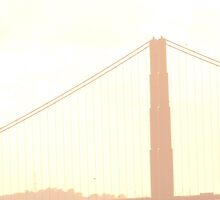 Golden Gate Bridge by lydiaprakel
