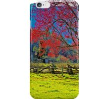 SPRING MORNING,CADES COVE iPhone Case/Skin