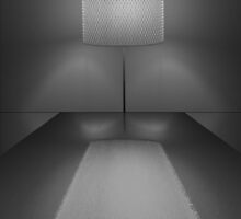 BLACK WHITE REFLECTING LAMP - COLLABORATION by Colleen2012