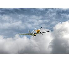 P51 Mustang - Cadillac of the Sky Photographic Print