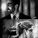 Black and White Olicity Portraits by humansrsuperior