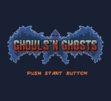 Ghouls' N Ghosts (Genesis) Title Screen by AvalancheJared