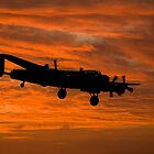 Avro Lancaster at Dawn by © Steve H Clark Photography