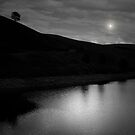 JUST ME AND THE MOON by leonie7
