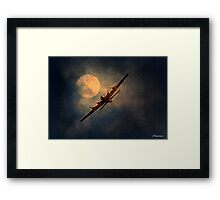 A Night Flight Framed Print