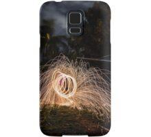 Fire wire Samsung Galaxy Case/Skin