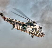 Sea King in Arctic Camouflage by © Steve H Clark Photography