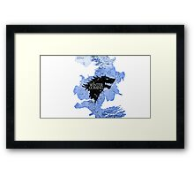 game of thrones-winter is coming Framed Print