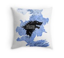 game of thrones-winter is coming Throw Pillow