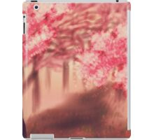 Blooming Sakura Trees 2 iPad Case/Skin