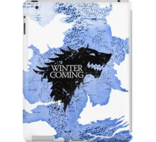 game of thrones-winter is coming iPad Case/Skin