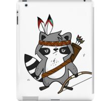 Apache The Raccoon iPad Case/Skin