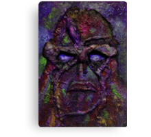 Swamp Thing Red Canvas Print