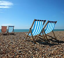 Summer on Brighton Beach by Ludwig Wagner