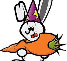 HeinyR- White Magic Rabbit by cadellin