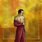Red saint by 2Herzen