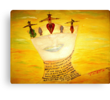 The Grail Of Holiness Canvas Print
