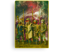 Samurai Space Guardians. Canvas Print