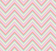 Baby Doll Chevrons by lawleypop