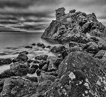Cairncastle Rocks by Nigel R Bell