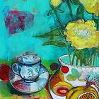 Orange Pekoe And Peonies by Maria Pace-Wynters