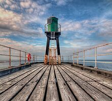 Whitby Harbour West Pier by © Steve H Clark Photography