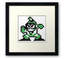 bubble man Framed Print
