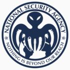 The spectre of the NSA (USA blue) by Devil Olive