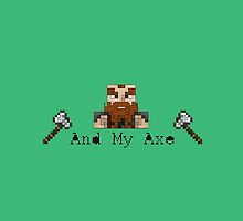 And My Axe by Jake Harrington