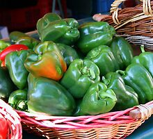 Green Peppers by Segalili