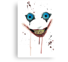 Jeff The Killer Canvas Print