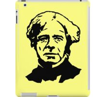 Michael Faraday Stencil iPad Case/Skin