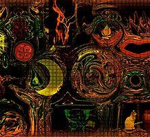 EXPRESSIONISM OF IMAGINATION by Sherri     Nicholas