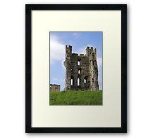 Helmsley Structure Framed Print