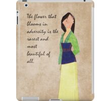 Mulan inspired design. iPad Case/Skin