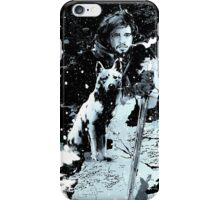 Jon Snow Leopard iPhone Case/Skin
