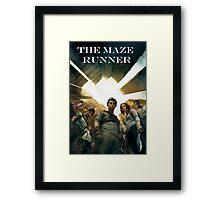 The Maze Runner Characters Framed Print