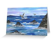 Show Off............ Greeting Card