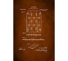 Soldier Armor Patent 1919 Photographic Print