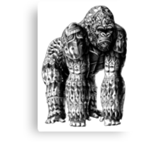 Silverback Gorilla Canvas Print