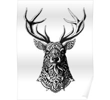 Ornate Buck Poster