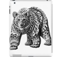 Ornate Bear iPad Case/Skin