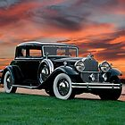 1931 Packard 845 Deluxe Eight Sports Sedan II by DaveKoontz