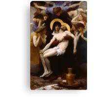 pieta ( william adolphe bouguereau ) Canvas Print