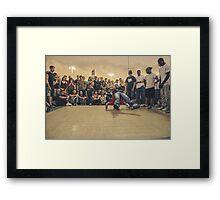 The B-Boy Files - #2 | BACK 2 BASICS  Framed Print