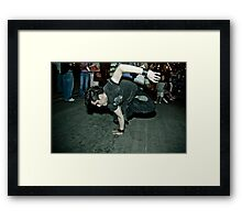 The B-Boy Files - #3 | Connect-A-Block Framed Print