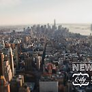 NYC Cityscape by modernistdesign